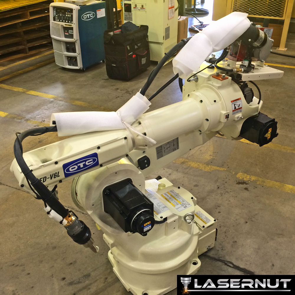 Introducing Rosie, Lasernut's New Robotic Welder